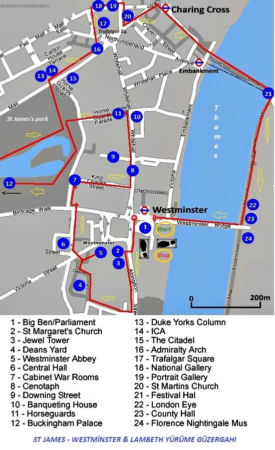 londonstjameswestminster-lambethwalkroute
